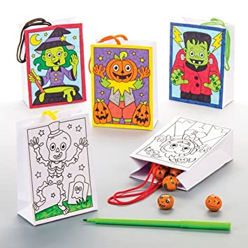 Bolsitas de Regalos de Halloween para Colorear a Precio de ganga ...