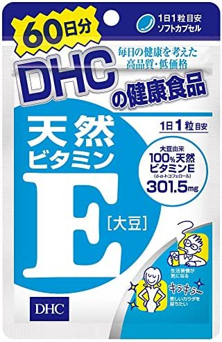 DHC JAPAN DHC 60 days natural vitamin E [soybean] 60 tablets (30.6g)