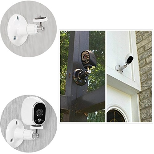 Arlo Pro Camera Wall Mount - 2 Pack Adjustable Indoor and Outdoor Mount for Arlo Cam and Arlo Pro, Arlo Pro 2, Arlo Go, Arlo Security Light or Wyze Cam Pan Wall Mount or Other Compatible Models