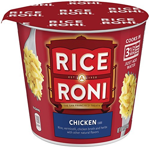 Rice a Roni Cups, Chicken, Individual Cup (Pack of 12 Cups) by Rice A Roni (Rice A Roni Cups Chicken compare prices)
