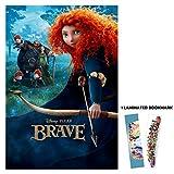 "Brave (2012) - Arrow- 13""x19"" Borderless Movie Poster Disney Pixar"