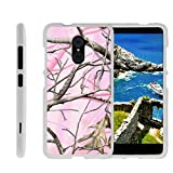 zte imperial 2 cases - [ZTE Imperial Max Case, ZTE Max Duo, Grand X Max 2, Kirk Shell Case][Snap Shell] Hard White Plastic Case with Non Slip Matte Coating by Miniturtle - Pink Hunter Camouflage