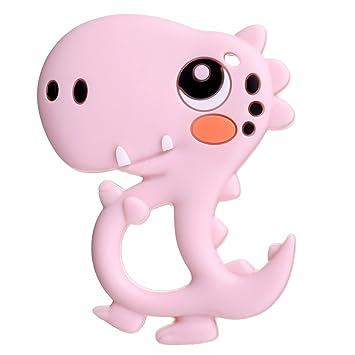 Baby Toddler Soothing Ice Gel Animal Design Teething Toy L