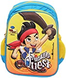 Disney 14 Litres 3D Embossed Kids Backpack in Disney Junior Characters (Jake and the Neverland Pirates)