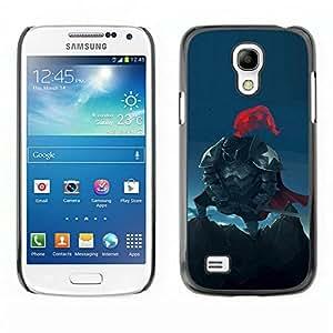 All Phone Most Case / Oferta Especial Duro Teléfono Inteligente PC Cáscara Funda Cubierta de proteccion Caso / Hard Case Samsung Galaxy S4 Mini i9190 // American Knight