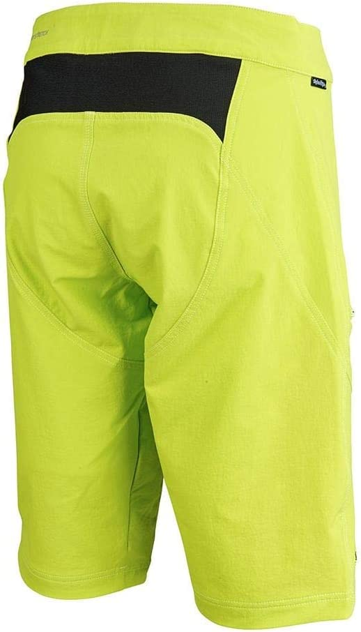 Troy Lee Designs Ruckus Womens Solid Bicycle Shorts Flo Yellow LG