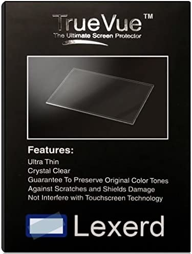 Lexerd Compatible with Sony DCR-SR600 TrueVue Crystal Clear Digital Camcorder Screen Protector
