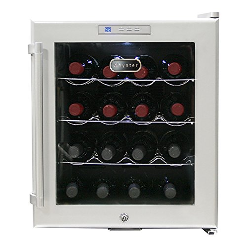 Whynter WC 16S Bottle Cooler Platinum