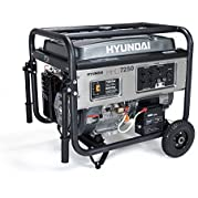 Hyundai HHD7250CA Gas Powered Generator
