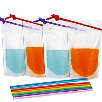 Amazon.com: Tomnk 200 bolsas transparente resistentes ...