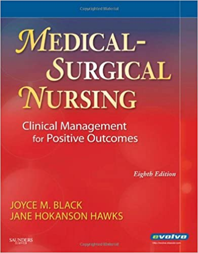 medical surgical nursing 1 for jocey and black 8edition