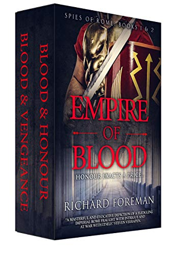 Amazon com: Empire of Blood: Spies of Rome Books 1 & 2 eBook