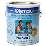Olympic Poxolon 2 Pool Paint - Blue Ice (1 gallon)