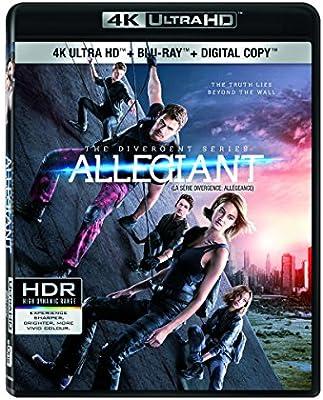 Allegiant 4K UHD Blu-Ray Region Free IMPORT No hay versión ...