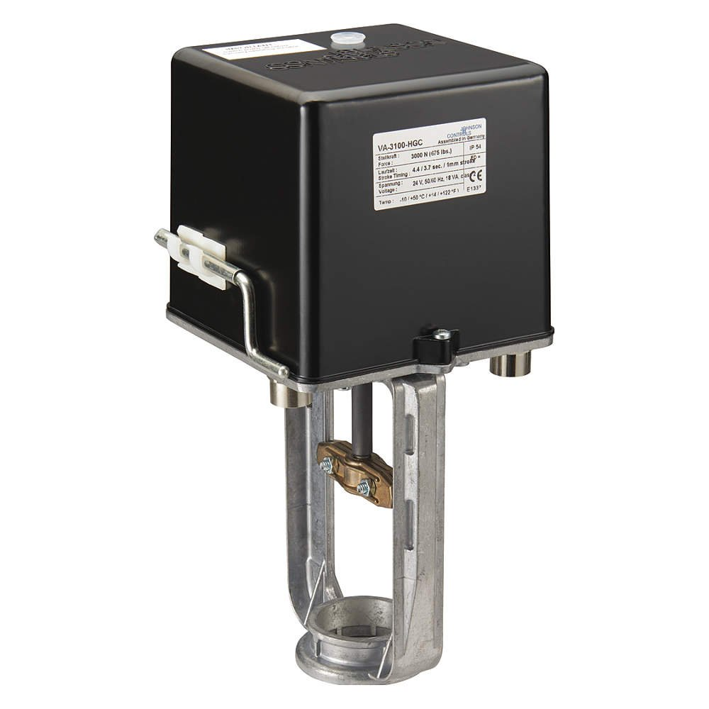 Image of Boat Motors Johnson Controls VA-3100-HGC VA-3100 Series Electric Valve Actuator, Proportional Control, Two Auxiliary Switches