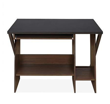 @Home by Nilkamal Micko Computer Table (Cappucino)