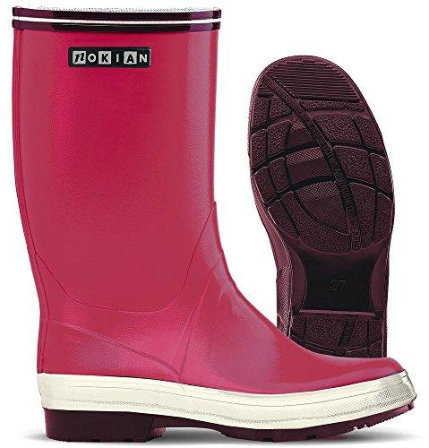 Nokian Footwear Reef - Botas de goma para hombre fucsia
