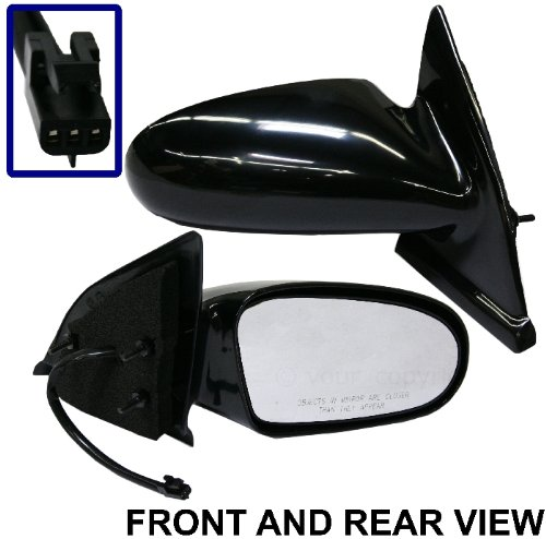 SATURN S-SERIES 96-02 SIDE MIRROR RIGHT PASSENGER, POWER, KOOL-VUE, NEW!