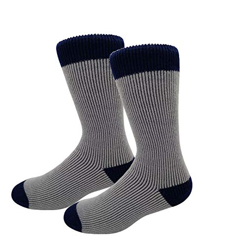 HIGHCAMP Winter Thermal Socks for Women Men Youth Warm Soft As Cashmere – Grey S/M