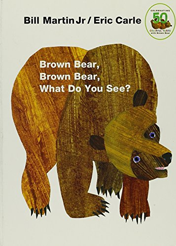Brown Bear, Brown Bear, What Do You See? Board Book -