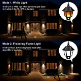 Solar Lights Outdoor, 2 in 1 Sconce Decorative