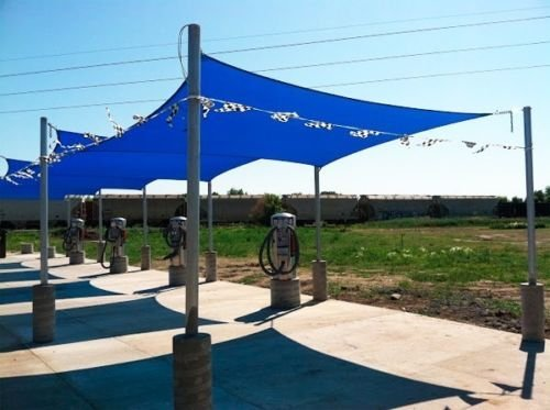 Rectangle Sun Shade Sail Patio Deck Beach Garden Yard Out...