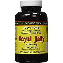 YS Organic Bee Farms - Royal Jelly Caps 2000 mg. - 75 Capsules