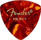 Fender 346 Shape Classic Celluloid Picks (12 Pack) for electric guitar, acoustic guitar, mandolin, and bass