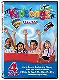 Kidsongs: Let's Go 4 Pack