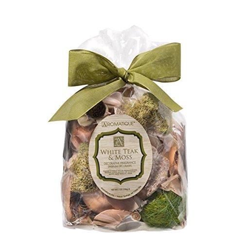 Aromatique White Teak and Moss Potpourri 7 oz Package by Aromatique