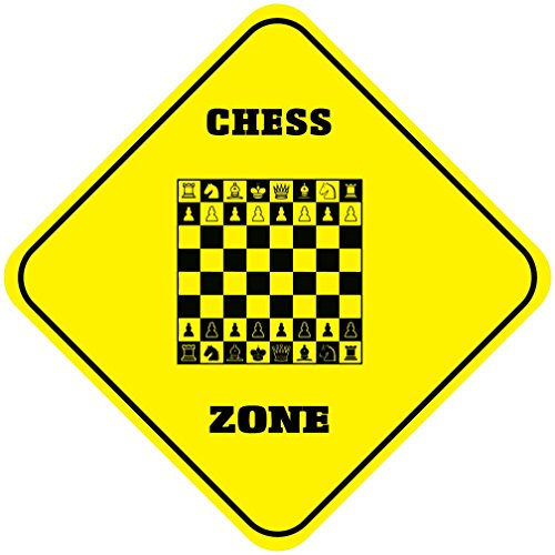 (Aluminum Cross Sign Chess Zone Crossing Style C Metal Wall Decor -)