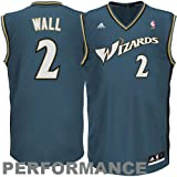 adidas Washington Wizards John Wall New Revolution 30 Replica Road Jersey