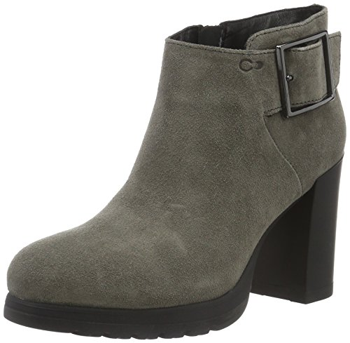 Stonefly Women Cold Lined Classic Boots Short Length Grey (Asphaltn 08)