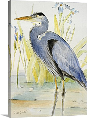 - Lanie Loreth Premium Thick-Wrap Canvas Wall Art Print entitled Great Blue Heron 18