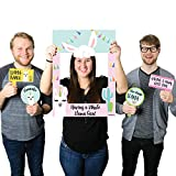 Big Dot of Happiness Whole Llama Fun - Llama Fiesta Baby Shower or Birthday Party Selfie Photo Booth Picture Frame & Props - Printed on Sturdy Material