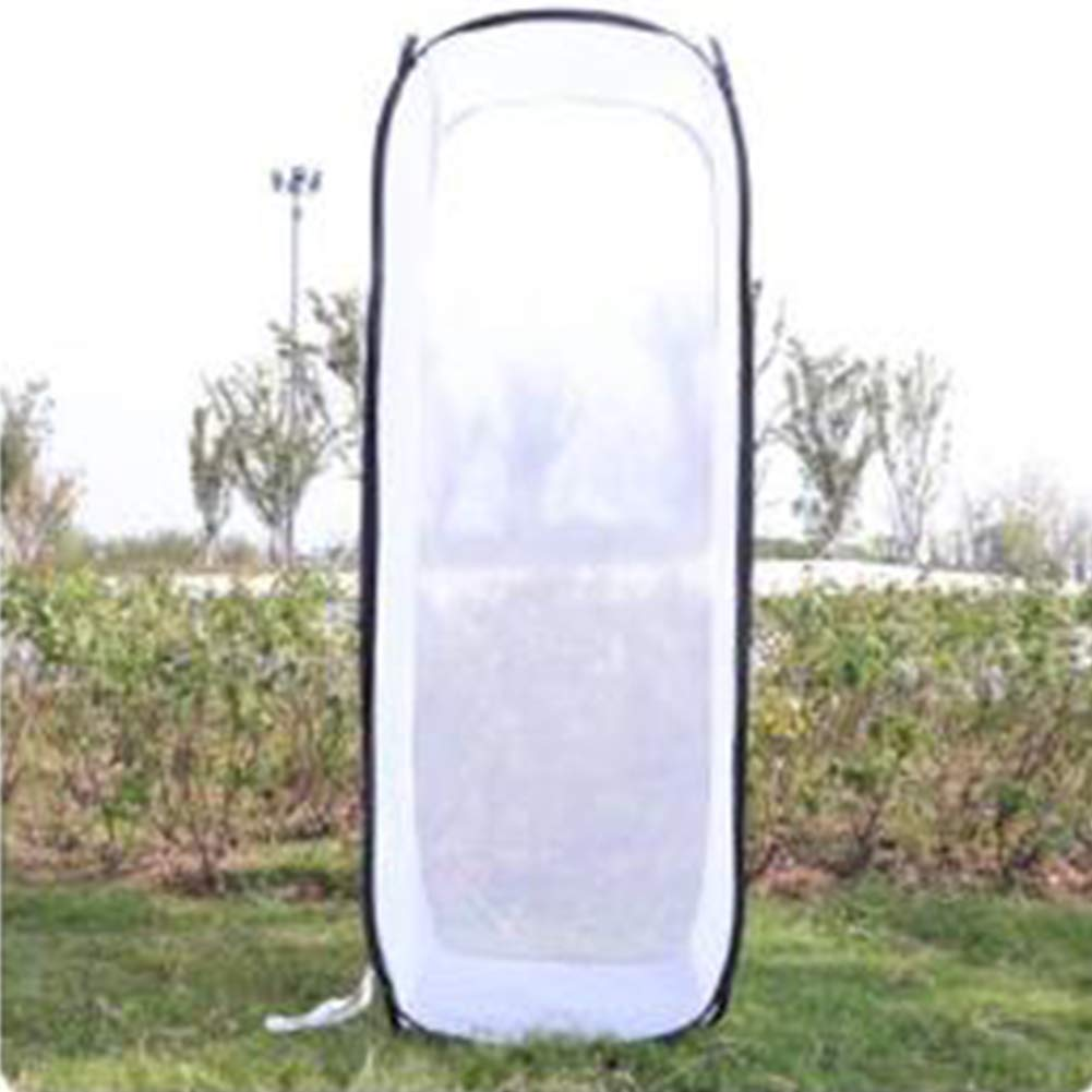 XuBa Insect and Butterfly Habitat Cage Diaphanous Collapsible Insect Observation Cage Tool White XL Birthday Christmas Xmas Gift Present for Kids