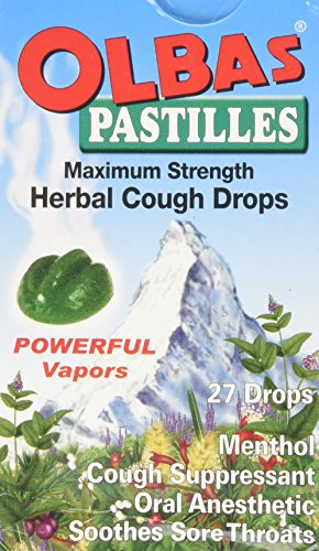 OLBAS Herbal Cough Drop Pastilles, 27 CT