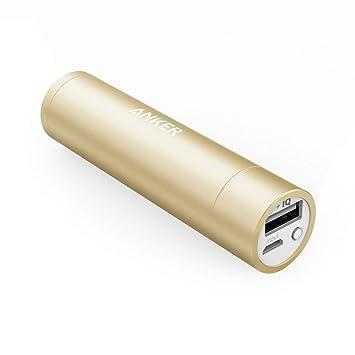 Anker 3200mAh Batería externa PowerCore+ mini banco de energía Cargador USB con PowerIQ y Panasonic Batería de celda para iPhone 6s, 6s, 5s, Galaxy ...