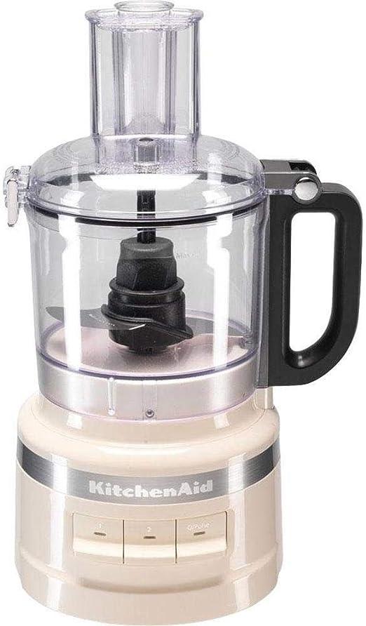 KitchenAid 5KFP0719EAC - Robot de cocina (1,7 L, Crema de color, Botones, 0,914 m, China, De plástico): Amazon.es: Hogar