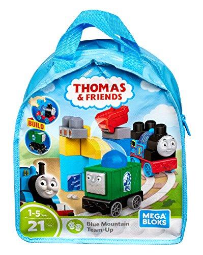 Mega Bloks Thomas & Friends Blue Mountain Team-Up Building Kit -
