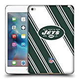 new york jets ipad case - Official NFL Stripes 2017/18 New York Jets Logo Soft Gel Case for Apple iPad mini 4