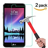 LG K20 V / K20V (Verizon) / LG K20 Plus / LG V5 / LG K10 2017 Screen Protector, [ 2 Pack ] Tempered Glass Asstar 9H Hardness 2.5D Tempered Glass Bubble-Free [Life-Time Warranty] (2 Pack)