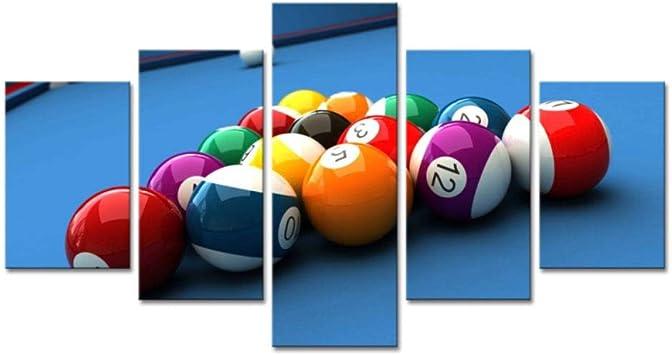 Billar tenis de mesa deportes entretenimiento cinco piezas de ...