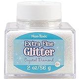 Sulyn 2-Ounce Glitter Stacker Jar, Crystal Diamond