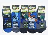 Ben 10 Boys Ultimate Alien Socks (5 Pack)