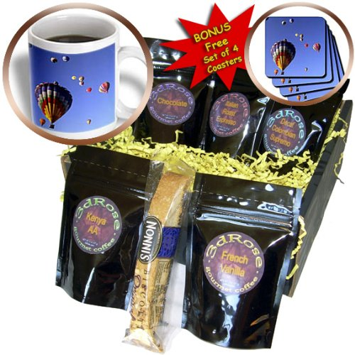 Danita Delimont - Hot Air Balloons - Hot air balloons, Albuquerque, New Mexico - US32 BBA0010 - Bill Bachmann - Coffee Gift Baskets - Coffee Gift Basket (cgb_92523_1)