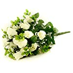 FloristryWarehouse-Artificial-silk-flower-Rose-Gyp-bunch-24-stems-of-Cream-White-Roses-21-inches