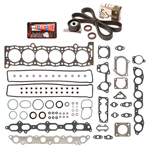 Evergreen HSTBK2023T Head Gasket Set Timing Belt Kit Fits 86-92 Toyota Supra Turbo 3.0 DOHC 24v 7MGTE (Toyota Supra Head)