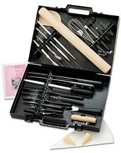 Deglon 24-Piece D2 Black Case Pastry Tool Set
