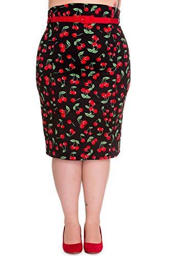 Hell-Bunny-Cherry-Pop-50s-Plus-Size-Pencil-Skirt